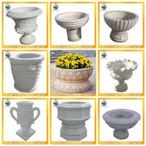 Large Garden Stone Flower Pot pictures & photos