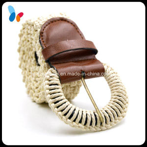 Fashion Rope Braided Belt Rope Covered Pin Buckle Belt pictures & photos