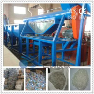 Waste HDPE Barrel Cans Recycling Line pictures & photos