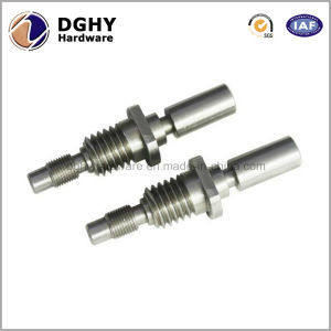 Customized Aluminum Auto CNC Machining Parts Casting Metal Motor Spare Parts Made in China pictures & photos