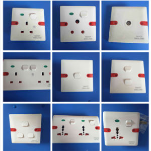 UK, Africa ABS or Bakelite Wall Socket (W-101) pictures & photos