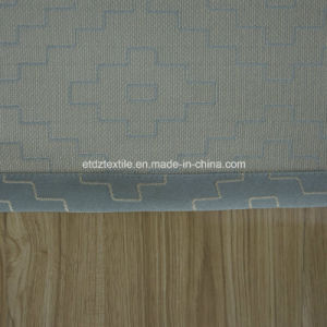 2016 Water Blue Color Modern Design Window Curtain Fabric pictures & photos