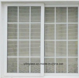 Decorative Insulated Glass with Cross Bar Insid pictures & photos