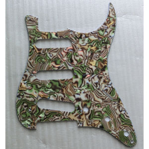 USA Standard 11 Holes Abalone Strat Guitar Pickguard pictures & photos