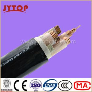 0.6/1kv Electrical Cable 3*185mm2+1*95mm2, Copper Cable, XLPE Insulation, PVC Sheath Power Cable pictures & photos