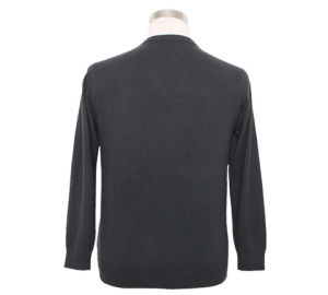 Bn1665 Yak Merino Wool Long Sleeve V Neck Pullover Men′s spring and Autumn Sweater pictures & photos