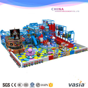 2016 Big Indoor Equipment Playground Plastic Side Playground pictures & photos