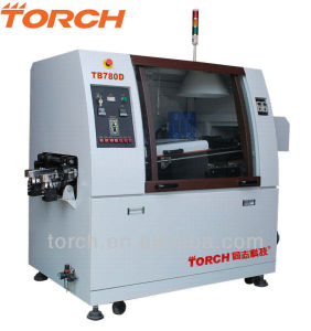 SMT Double Leadfree Wave Soldering Oven with PCB Width 200mm Tb780d (TORCH) pictures & photos