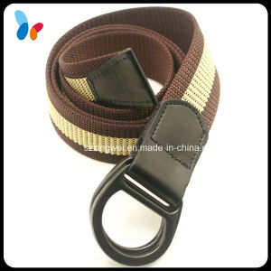 Coated Double D Ring Buckle Webbing Fabric Belts pictures & photos