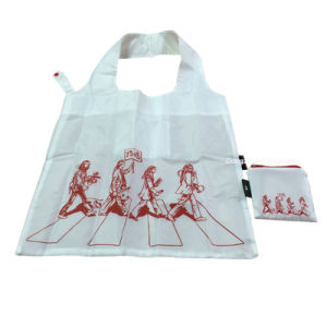 Hot Sale Recycled 210d Polyester/Nylon Satin Fabric Shopping Bag