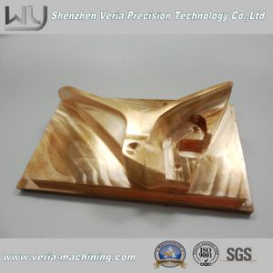 High Precision CNC Machining Copper Part / CNC Machinery Part Electrode Component Non-Standard Good Quality