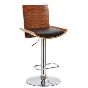 American Restaurant Dining Furniture Swivel Wooden Bar Chair (FS-WB1927) pictures & photos