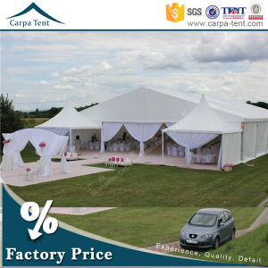 Flame Resistant Aluminum Frame 200 People Marquee Tent with Chairs and Tables pictures & photos