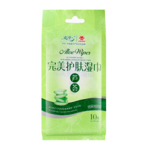 Aloe Perfume Moisturizing Skin Care and Cleaning Wet Wipe pictures & photos