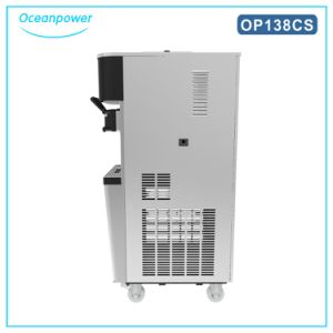 Soft Ice Cream Making Machine for Sale (Oceanpower OP138CS) pictures & photos