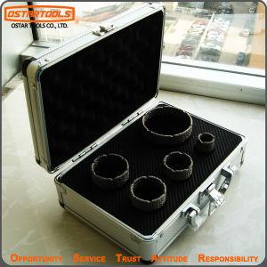 5PCS Monster Vacuum Brazed Dry Tile Diamond Core Drill Bits pictures & photos