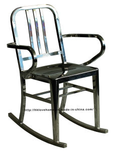 Emeco Metal Dining Restaurant Coffee Armchair Navy Rock Chair pictures & photos