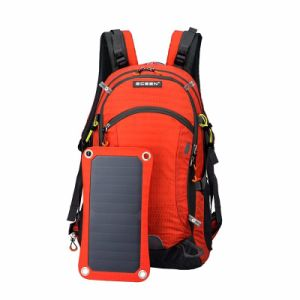 6W 1200mA Sunpower Solar Power Mobile Phone Laptop Backpack Charger Bag pictures & photos