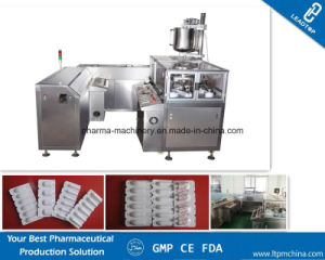 Vaginal Suppositories Production Line From Forming, Filling, Cooling, Sealing, Cutting pictures & photos