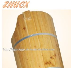 Round Wooden Foot Tub Foot Bath Barrel Healthy Wooden Barrel pictures & photos