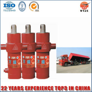 Multi Stage Side Dumping Hydraulic Cylinder for Tipper pictures & photos