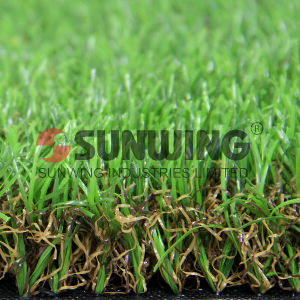 Hot Sale Synthetic Plastic Luscious Landscaping Artificial Grass pictures & photos