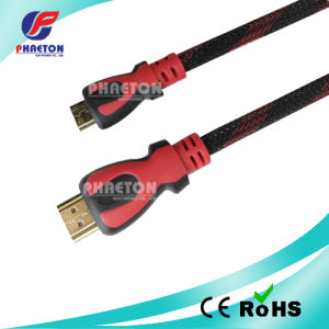 1080P Mini HDMI to HDMI Cable with Net (pH6-1218) pictures & photos