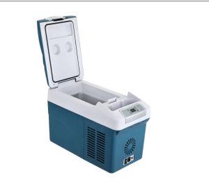Mini Car Compressor Refrigerator 15liter DC12/24V with AC Adaptor (100-240V) pictures & photos