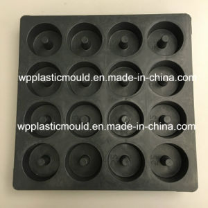 Plastic Injection Moulding Concrete Block Spacer Mold (YB5216) for High-Speed Railway pictures & photos