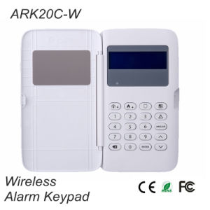 1km Transmit Distance Wireless Alarm Keypad {Ark20c-W} pictures & photos