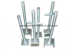 Different Type Screw Base Jack of Scaffold Accessoriesfor Construction Equipment and Building Material with Different Standard (CQG-BPSJB)