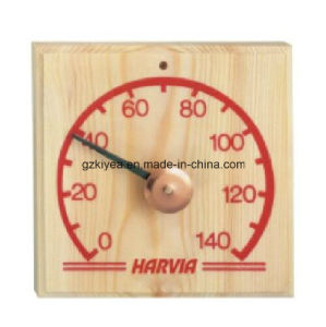 Sauna Room Thermometer with Touch Clock Needle