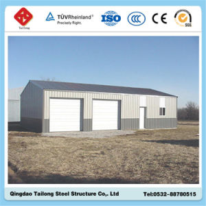 Low Cost High Quality Prefabricated House with Sandwich Panel pictures & photos