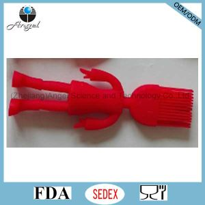 Kid′s Silicone Baking Tool Brush with Human Shape Sb11
