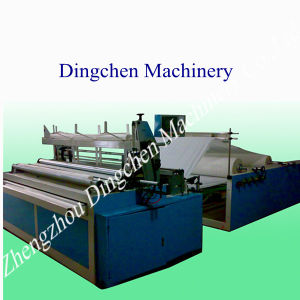Toilet Paper Rewinding, Perforating and Embossing Machine pictures & photos