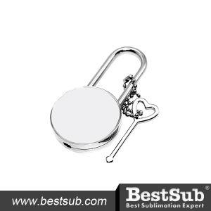 Bestsub Sublimation Personalized Zinc Alloy Lock (ST02) pictures & photos