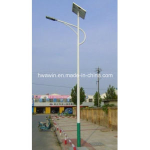 5m-6m 30W Energy Saving LED Solar Street Light System pictures & photos