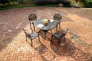 High Quality Cast Aluminum Garden Dining Sets Furniture pictures & photos