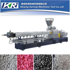 Factory Price Twin Screw Extruder for Plastic Granulating Machine pictures & photos