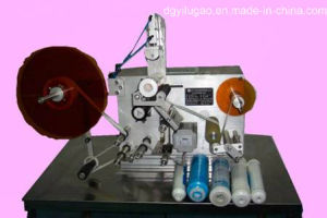 Semi-Automatic Flexible Tube Labeling Machine pictures & photos