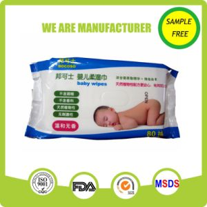 Pure Water Comfortable Softly Alcohol Free Baby Wipe Manufacture pictures & photos