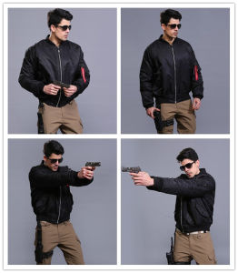 3 Colors Tactical Pilot Coat Men Waterproof Windproof Warm Jacket pictures & photos