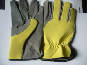 Leather Glove- Working Glove-Cheap Glove-Labor Glove pictures & photos