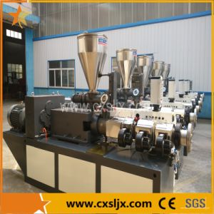 65mm Conical Twin Screw Extruder for UPVC Window Profile Machine pictures & photos