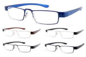 New Trend Full Rim Metal Reading Glasses PC Temples pictures & photos