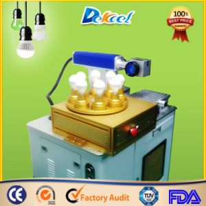 Plastic LED Bulb Fiber Laser Marking Machine pictures & photos