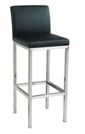 Backrest Stainless Steel Bar Stool pictures & photos