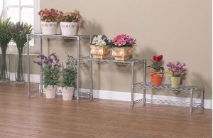 Wonderful Metal Wire Display Rack Stands for Flower, Knock Down Style pictures & photos