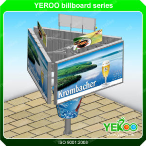 Trivision Steel Outdoor Billboard Frame Advertising Structure pictures & photos