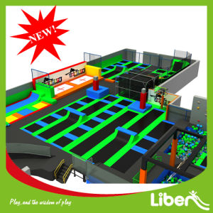 Super Large Trampoline Playground Park for Adults with Dodgeball Courts pictures & photos